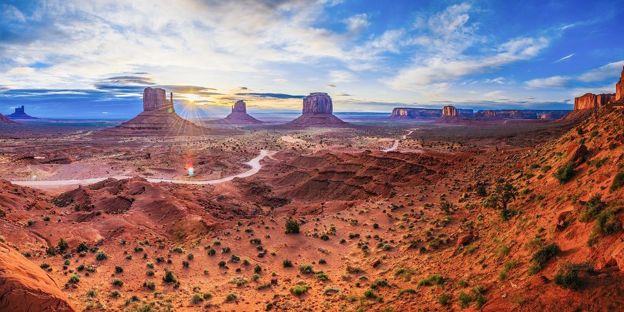 Le top 5 des destinations de l'Amérique de l'ouest